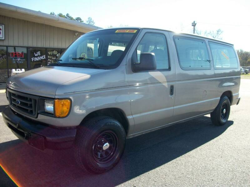 2003 Ford E-150 for sale at Lentz's Auto Sales in Albemarle NC