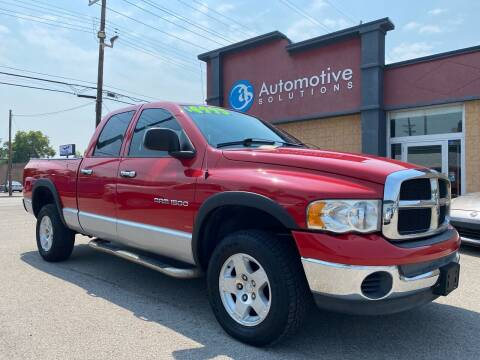 2005 Dodge Ram Pickup 1500 for sale at Automotive Solutions in Louisville KY