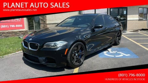2014 BMW M5 for sale at PLANET AUTO SALES in Lindon UT