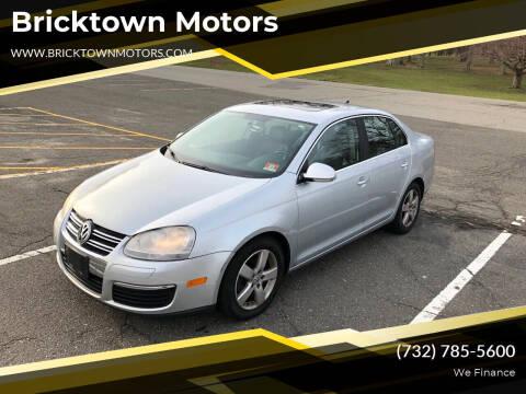 2008 Volkswagen Jetta for sale at Bricktown Motors in Brick NJ