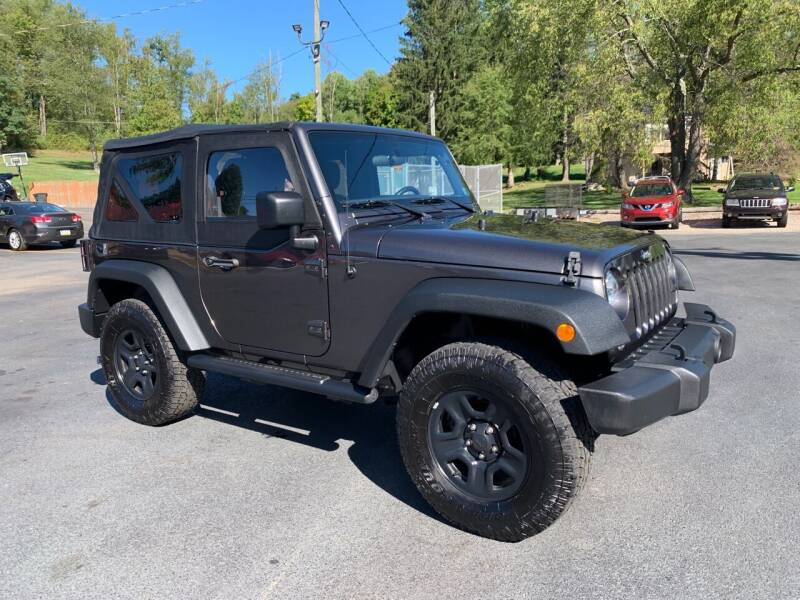2017 Jeep Wrangler for sale at Twin Rocks Auto Sales LLC in Uniontown PA