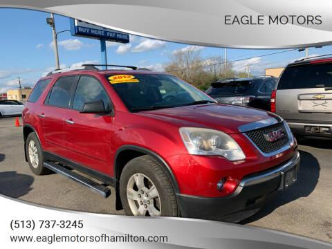 2012 GMC Acadia for sale at Eagle Motors in Hamilton OH