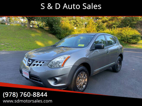 2012 Nissan Rogue for sale at S & D Auto Sales in Maynard MA