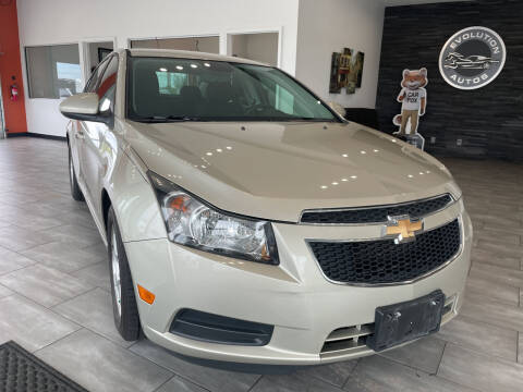 2014 Chevrolet Cruze for sale at Evolution Autos in Whiteland IN
