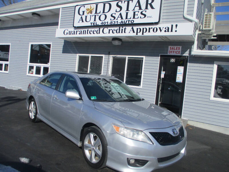 2011 Toyota Camry for sale at Gold Star Auto Sales in Johnston RI