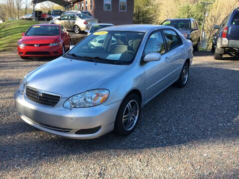 2006 Toyota Corolla for sale at R C MOTORS in Vilas NC