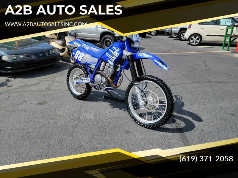 2001 Yamaha TT-R 250 for sale at A2B AUTO SALES in Chula Vista CA