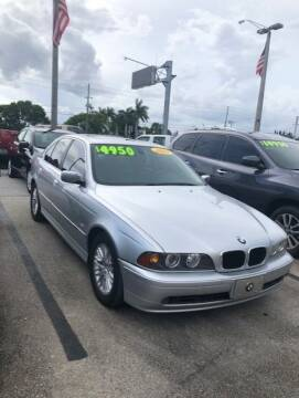 2003 BMW 5 Series for sale at DAN'S DEALS ON WHEELS in Davie FL