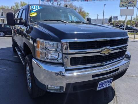 2008 Chevrolet Silverado 2500HD for sale at GREAT DEALS ON WHEELS in Michigan City IN