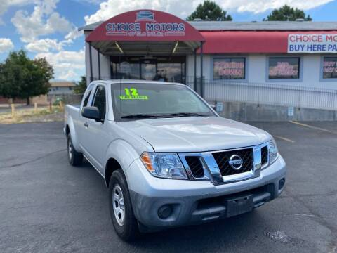 2012 Nissan Frontier for sale at Choice Motors of Salt Lake City in West Valley  City UT