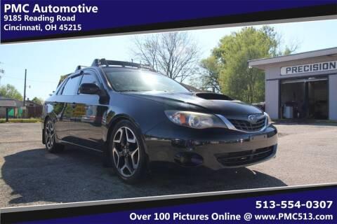 2008 Subaru Impreza for sale at PMC Automotive in Cincinnati OH