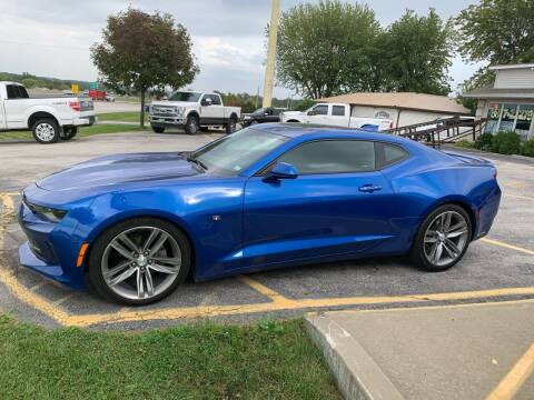 2017 Chevrolet Camaro for sale at Revolution Motors LLC in Wentzville MO