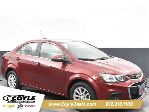 2017 Chevrolet Sonic for sale at COYLE GM - COYLE NISSAN - New Inventory in Clarksville IN