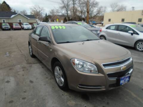 2008 Chevrolet Malibu for sale at DISCOVER AUTO SALES in Racine WI