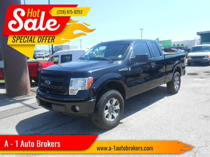 2014 Ford F-150 for sale at A - 1 Auto Brokers in Ocean Springs MS