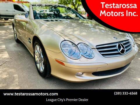 2003 Mercedes-Benz SL-Class for sale at Testarossa Motors Inc. in League City TX
