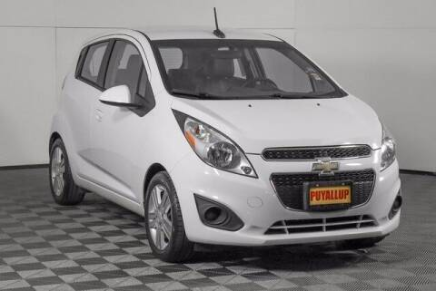 2014 Chevrolet Spark for sale at Washington Auto Credit in Puyallup WA