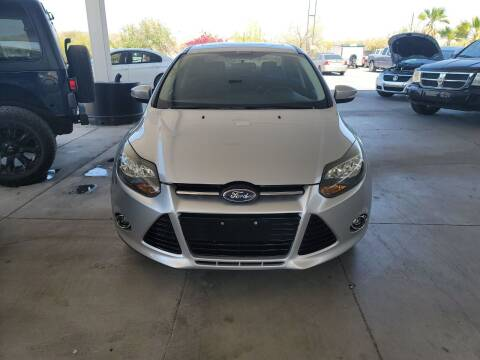2013 Ford Focus for sale at Carzz Motor Sports in Fountain Hills AZ
