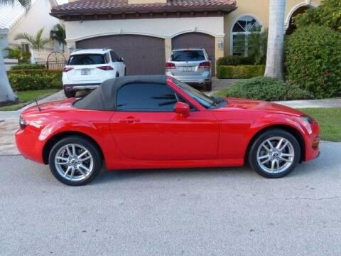 2014 Mazda MX-5 Miata for sale at Lifetime Automotive Group in Pompano Beach FL