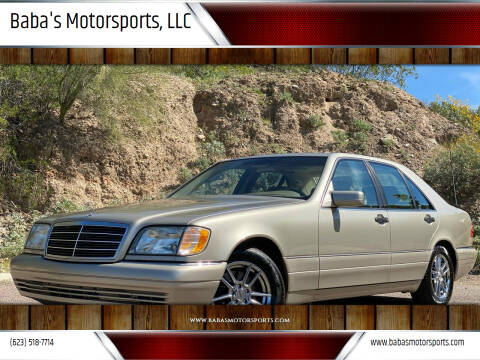 1999 Mercedes-Benz S-Class for sale at Baba's Motorsports, LLC in Phoenix AZ