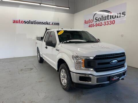 2018 Ford F-150 for sale at Auto Solutions in Warr Acres OK