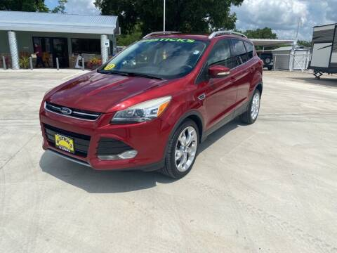 2013 Ford Escape for sale at Bostick's Auto & Truck Sales in Brownwood TX