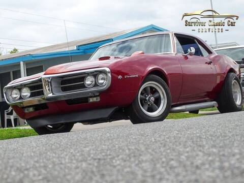 1967 Pontiac Firebird for sale at SURVIVOR CLASSIC CAR SERVICES in Palmetto FL