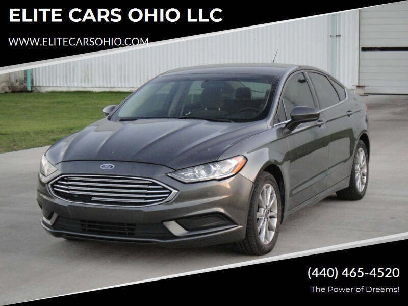 2017 Ford Fusion for sale at ELITE CARS OHIO LLC in Solon OH