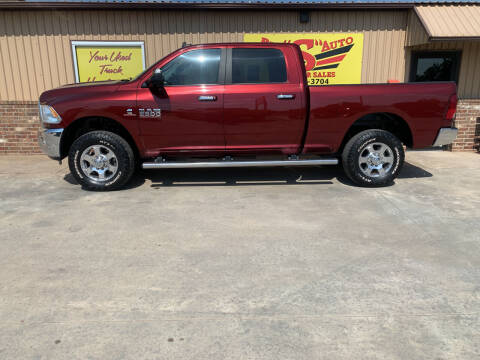 2017 RAM Ram Pickup 3500 for sale at BIG 'S' AUTO & TRACTOR SALES in Blanchard OK