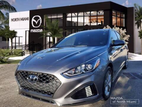 2018 Hyundai Sonata for sale at Mazda of North Miami in Miami FL