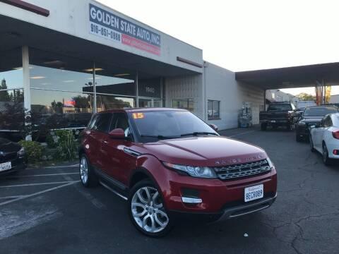 2015 Land Rover Range Rover Evoque for sale at Golden State Auto Inc. in Rancho Cordova CA