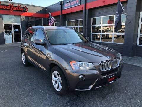 2011 BMW X3 for sale at Goodfella's  Motor Company in Tacoma WA