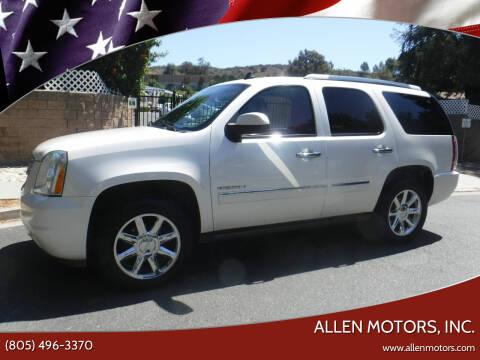 2014 GMC Yukon for sale at Allen Motors, Inc. in Thousand Oaks CA