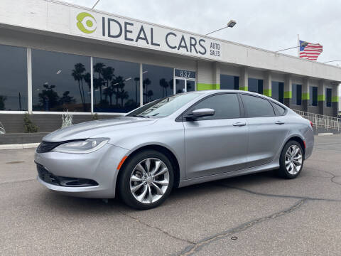 2015 Chrysler 200 for sale at Ideal Cars Broadway in Mesa AZ