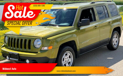 2012 Jeep Patriot for sale at Midwest Auto in Naperville IL