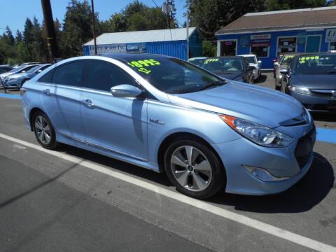 2012 Hyundai Sonata Hybrid for sale at Lino's Autos Inc in Vancouver WA