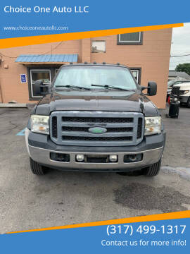 2007 Ford F-450 Super Duty for sale at Choice One Auto LLC in Beech Grove IN