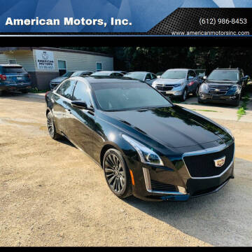 2016 Cadillac CTS for sale at American Motors, Inc. in Farmington MN