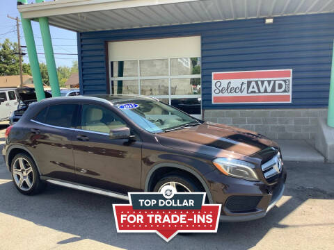 2015 Mercedes-Benz GLA for sale at Select AWD in Provo UT