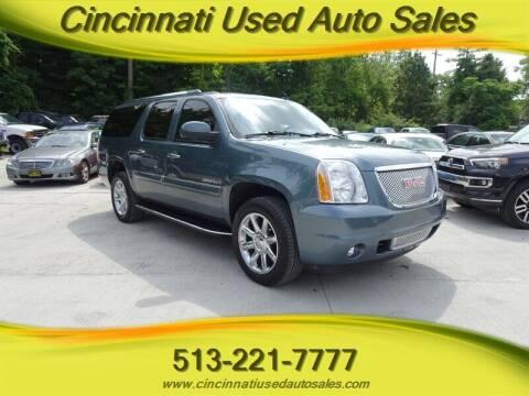 2008 GMC Yukon XL for sale at Cincinnati Used Auto Sales in Cincinnati OH