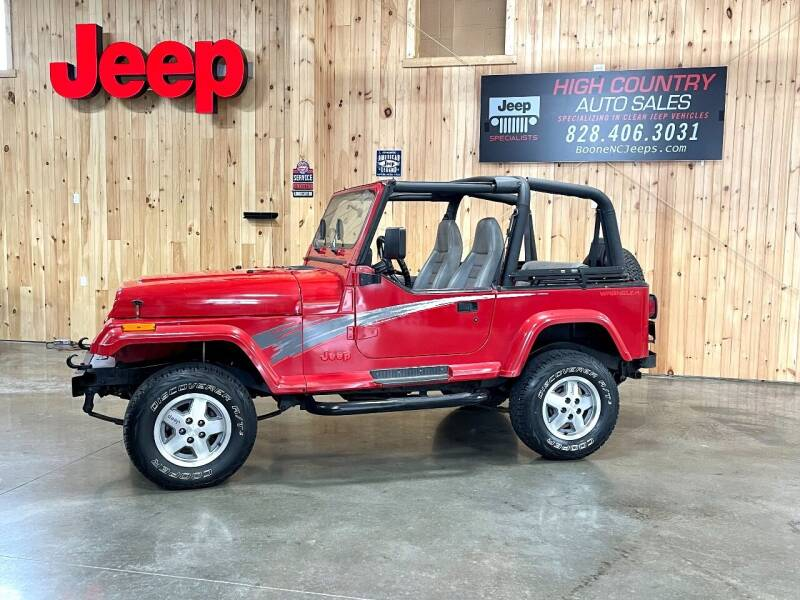 1995 Jeep Wrangler for sale at Boone NC Jeeps-High Country Auto Sales in Boone NC