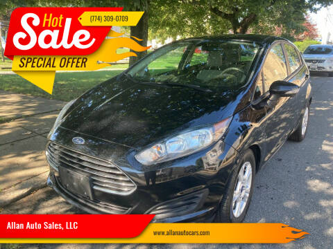 2016 Ford Fiesta for sale at Allan Auto Sales, LLC in Fall River MA