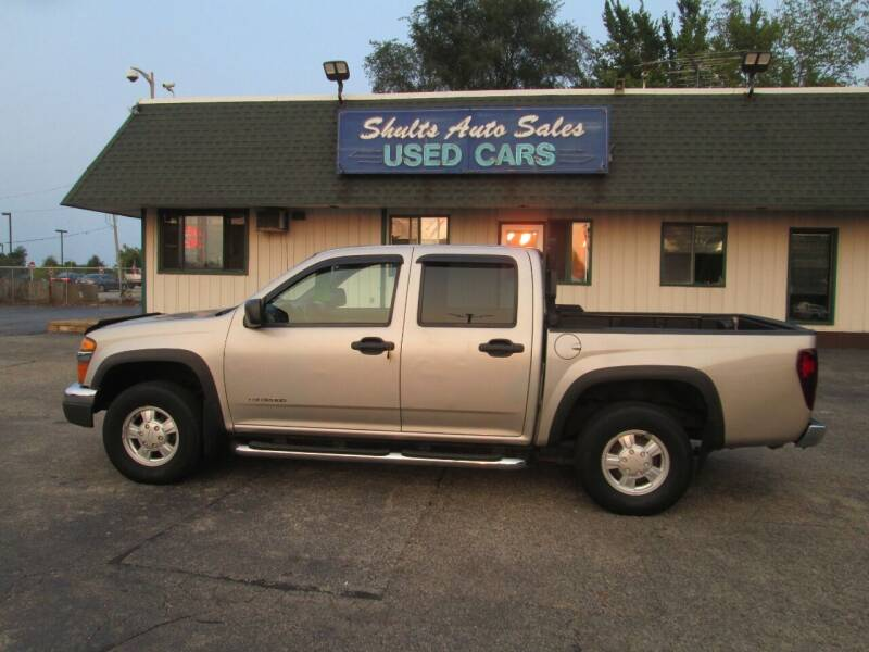 2005 Chevrolet Colorado for sale at SHULTS AUTO SALES INC. in Crystal Lake IL