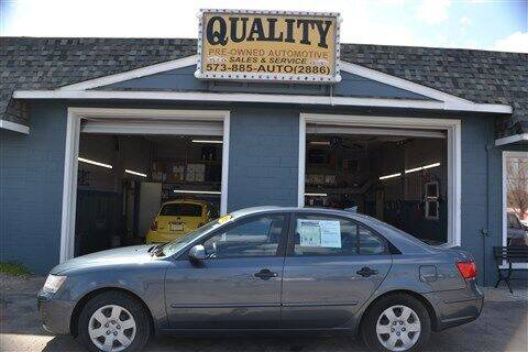 2010 Hyundai Sonata for sale at Quality Pre-Owned Automotive in Cuba MO