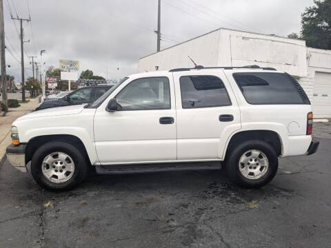 2004 Chevrolet Tahoe for sale at GREAT DEALS ON WHEELS in Michigan City IN