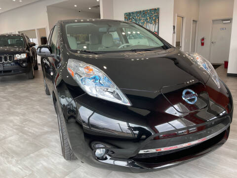 2012 Nissan LEAF for sale at Evolution Autos in Whiteland IN