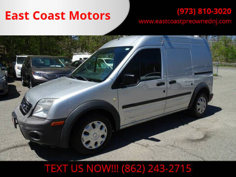 2012 Ford Transit Connect for sale at East Coast Motors in Lake Hopatcong NJ