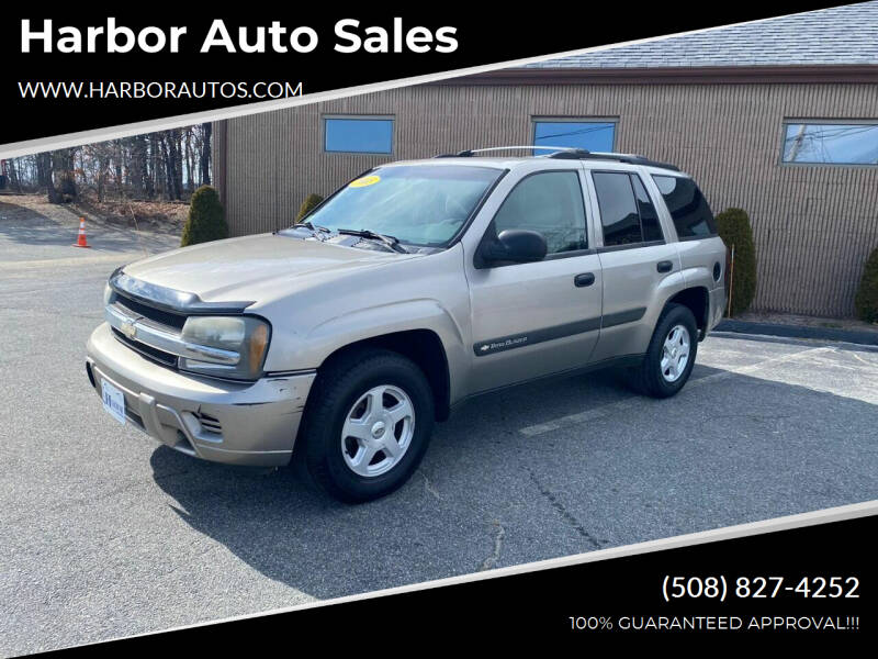 2003 Chevrolet TrailBlazer for sale at Harbor Auto Sales in Hyannis MA