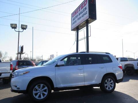 2011 Toyota Highlander for sale at United Auto Sales in Oklahoma City OK
