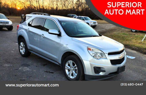 2011 Chevrolet Equinox for sale at SUPERIOR AUTO MART in Amelia OH